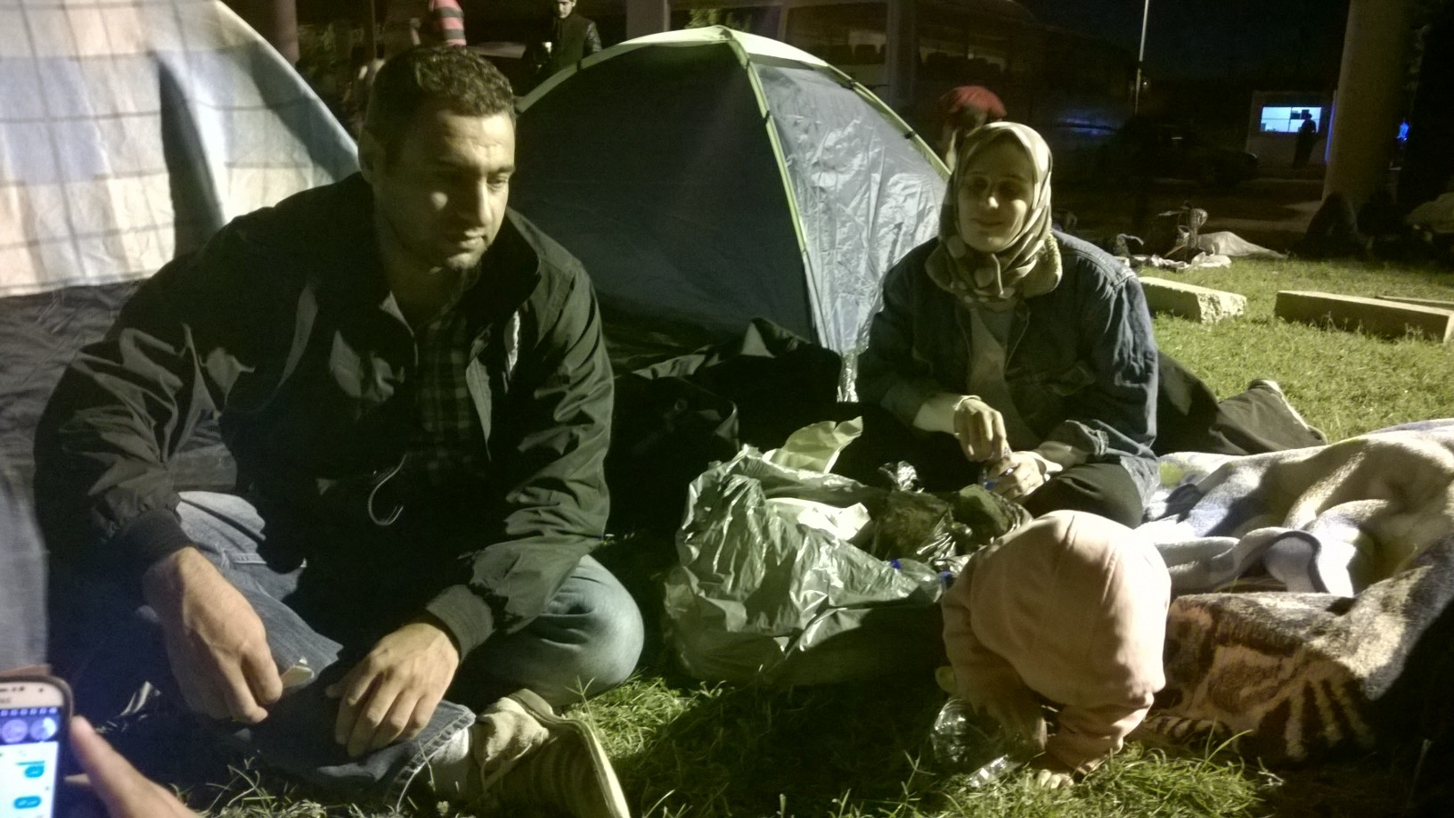 Αδριανούπολη: Στο δρόμο της ελπίδας, πρόσφυγες από τη Συρία